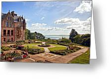 Belfast Castle Cat Garden Greeting Card