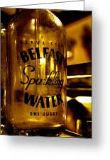Belfast Sparkling Water Greeting Card