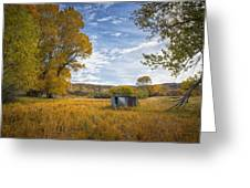 Belfry Fall Landscape Greeting Card