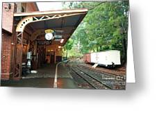 Belgrave Train Station Greeting Card