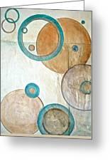 Belief In Circles Greeting Card by Debi Starr
