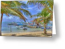 Belize Hdr Greeting Card