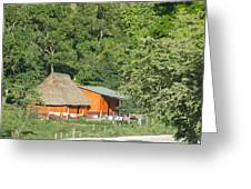 Belize House Greeting Card