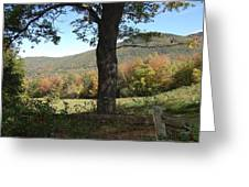 Belknap Mountain Greeting Card