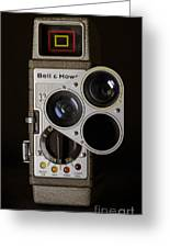 Bell And Howell 333 Movie Camera Greeting Card