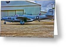 Bell P-59 Airacomet Greeting Card