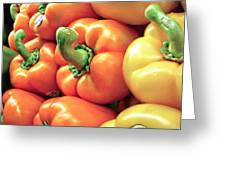 Bell Pepper Stack Greeting Card