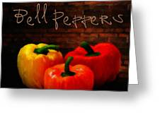 Bell Peppers II Greeting Card