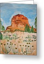 Bell Rock Greeting Card by Marcia Weller-Wenbert