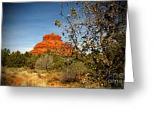 Bell Rock Vista Sedona  Az Greeting Card