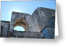Bell Tower 1386 Greeting Card