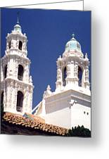 Bell Towers Greeting Card