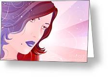Bella Donna I Greeting Card