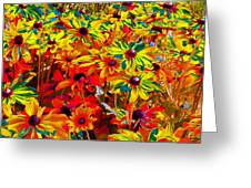 Bella Flora Painting Greeting Card