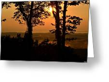 Bella Vista Sunset 2 Greeting Card