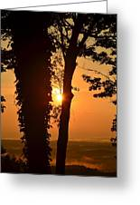 Bella Vista Sunset 3 Greeting Card