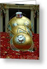 Bellagio Christmas Ornaments Greeting Card