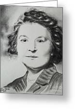 Belle Grand-mere Piche Greeting Card