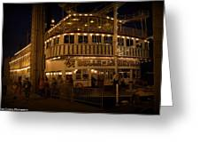 Belle Of Louisville Lights Greeting Card