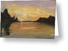 Belle River II Greeting Card