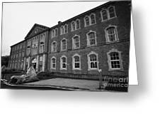 Belleek Pottery Showroom Belleek County Fermanagh Northern Ireland Greeting Card