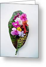 Belleza Floral Greeting Card