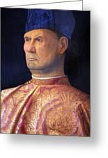 Bellini's Giovanni Emo Greeting Card