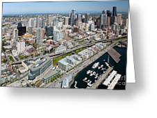 Belltown In Downtown Seattle Greeting Card