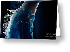 Belly Dance Color Greeting Card