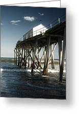 Belmar Beach Greeting Card