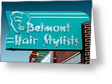 Belmont Hair Stylists Greeting Card