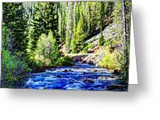 Belt Creek Greeting Card