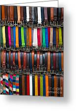 Belts Galore Greeting Card