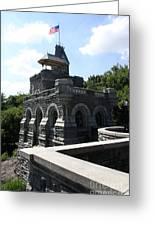 Belvedere Castle - Central Park Greeting Card