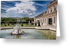Belvedere Fountains Greeting Card by Viacheslav Savitskiy