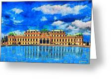 Belvedere Palace Greeting Card