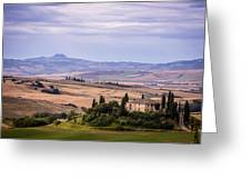 Belvedere Tuscany Greeting Card