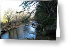 Belvidere Junction Stream Vermont Greeting Card