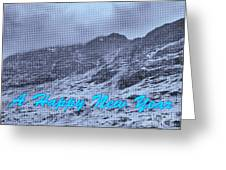 Ben Nevis Happy New Year Greeting Greeting Card