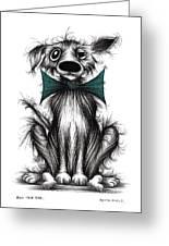 Ben The Dog Greeting Card