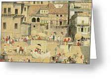 Benares Greeting Card