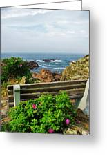 Marginal Way Greeting Card by Diane Valliere