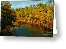 Bend In The Navasota Greeting Card