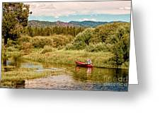 Bend/sunriver Thousand Trails Greeting Card