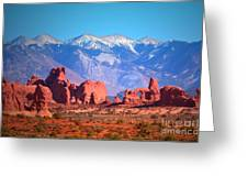Beneath Blue Skies Greeting Card