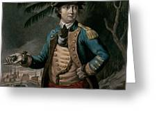 Benedict Arnold Greeting Card