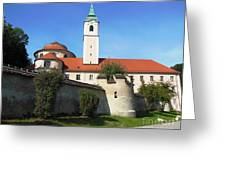 Benedictine Abbey Greeting Card