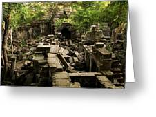 Beng Mealea Jungle Temple Greeting Card