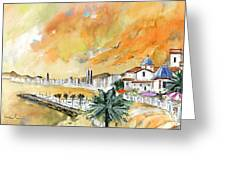 Benidorm Old Town Greeting Card