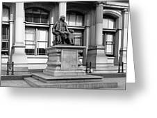 Benjamin Franklin Statue Philadelphia Greeting Card